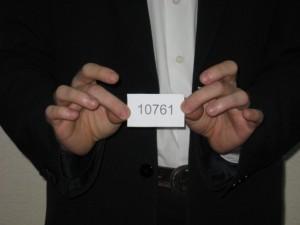 Первый пошел! Владелец счета с номером 10761 - счастливый обладатель главного приза. Нетбука фирмы Acer.