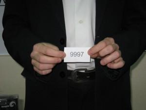 Второй USB-носитель с этого момента принадлежит владельцу счета 9997.