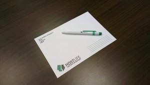 Конверт и ручка HOSTLIFE